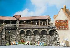 NEW ! HO Faller 130404 OLD TOWN CITY WALLS Building KIT use w/ MiniTanks Diorama