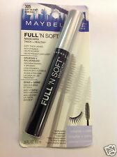 MAYBELLINE FULL 'N SOFT MASCARA  (  SOFT BLACK #305 ) Thick + Healthy NEW.