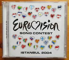 Eurovision  Song Contest Istanbul 2004 2CD Official Album MINT CONDITION