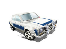 Hot Wheels Cars - '70 Ford Escort RS1600 White