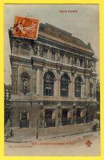 cpa Collection Fleury 75 - PARIS Ecrite en 1907 L'OPÉRA COMIQUE place Boieldieu