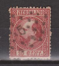 NVPH Netherlands Nederland 8 TOP CANCEL AMSTERDAM 5 Willem III 1867 3e emissie