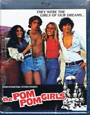 THE POM POM GIRLS cult *BLU-RAY NEW OOP* cheerleaders *70's SLEAZE ROMP RARE*