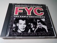 FINE YOUNG CANNIBALS CD 'THE RAW & THE COOKED' R&B/ALTERNATIVE GREAT MUSIC
