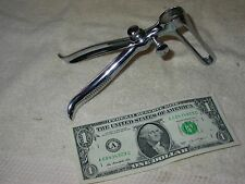 Vintage,SHARP & SMITH, Chrome Plated,  Rectal Rectum EXAM Speculum
