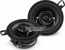 "Pioneer TS-A878 30W RMS 3.5"" A-Series 2-Way Coaxial Car Stereo Speakers"