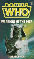 DOCTOR WHO  WARRIORS OF THE DEEP by TERRANCE DICKS  5th DOCTOR  TARGET PAPERBACK