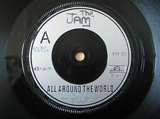 "The Jam All Around The World ♫LISTEN♫ A//2 B//1 UK 7"" Polydor 2058 903 1977 EX"
