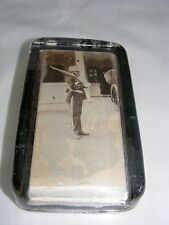 Vintage WWI Paper Weight Soldier 1916 William K Schroeder N Y Military Academy