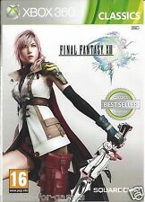 FINAL FANTASY XIII (13) for Xbox 360 - with box & manual - PAL