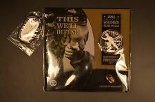 Limited Edition 2012 Infantry Dollar in a Defenders of Freedom set