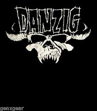 DANZIG cd cvr SKULL LOGO Official SHIRT SMALL New samhain misfits