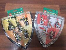 NEW Lego Kingdoms Battlepacks 852921 and 852922, SEALED!