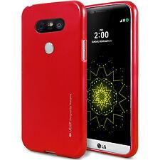LG G5 G4 G3 K10 V10 V20 Case GOOSPERY Ring2 i-Jelly Clear Jelly Metal Soft Cover