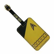 Star Trek Uniform Luggage Tag Gold