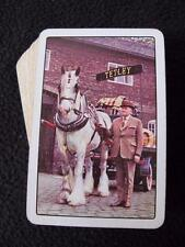 VINTAGE 1960's ADVERTISING PACK of PLAYING CARDS - TETLEY BREWERY - SHIRE HORSE