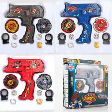 New Beyblade Stadium Super Metal Top Rapidity Fight Master Launcher Grip Toy Set