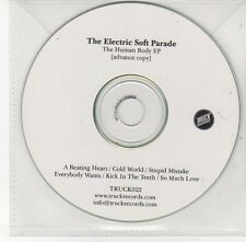 (EH538) The Electric Soft Parade, The Human Body EP - DJ CD