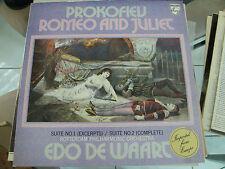 PROKOFIEV ROMEO AND JULIET IMPORT ROTTERDAM PHILHARMONIC ORCH EDO DE WAART