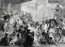 P.P.Rubens: Der Raub der Sabinerinnen Gründung Rom Rape Ratto delle Sabine Roma