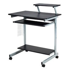 Mobile&Computer Desk Cart PC Laptop Table Study Portable Workstation Home&Office