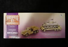 Corgi Diamond T Tank Transporter with Sherman Tank North Africa NIB 1:50 SCALE
