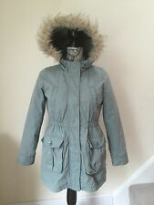 GAP Girls Coat & inner detachable jacket khaki green hood age 11/12 yrs XL Reg