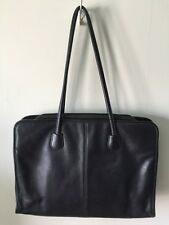 vtg COACH NYC Cashin era XL shoulder tote shopper BAG purse 7307 leather black