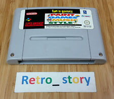 Super Nintendo SNES Fun 'N Games PAL