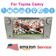 "Car DVD GPS Radio Bluetooth 8"" Player for Toyota Camry 2007 2008 2009 2010 2011"
