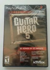 PS2 Guitar Hero 5 Game - BRAND NEW SEALED - Free Shipping