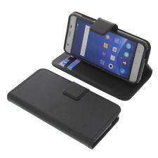 Tasche für Mobistel Cynus F9 Smartphone BookStyle Schutzhülle Buch Schwarz