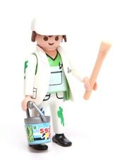 Playmobil Figure Mystery Series 9 City Life Painter Hat Brush Paint Bucket 5598