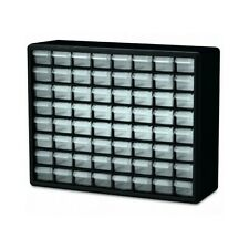 Hardware Storage 64 Drawer Plastic Cabinet Bin Craft Beads Small Parts Organize