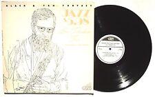 LEW TABACKIN TRIO: Black & Tan Fantasy LP JAM RECORDS JAM5005 US 1979 VG++