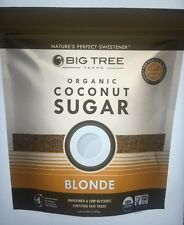 Big Tree Farms Organic Coconut Sugar, Blonde, 48 oz=3 LB, Low Glycemic Free Ship