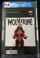 ALL-NEW WOLVERINE #1 (2015) CGC 9.8 NM/M X-23 Is Now Wolverine