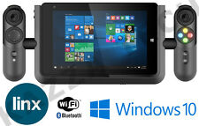 "LINX Vision 8 Gaming Tablet PC e Xbox Controller Dock 32GB 8 ""IPS HD Windows 10"