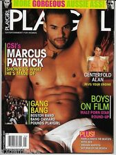 PLAYGIRL SEPTEMBER 2007! CSI'S MARCUS PATRICK NUDE! BANG CAMARO! JOHNNY CASTLE!