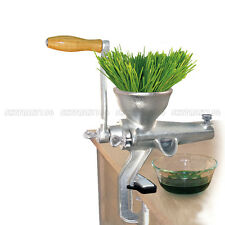 Heavy Duty Cast Iron Manual Wheatgrass Fruit Grinder Health Hand Juice Extractor