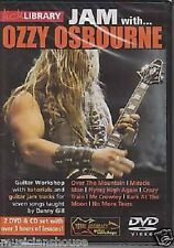 LICK LIBRARY Learn to Play JAM WITH OZZY OSBOURNE Crazy Train Metal GUITAR DVD