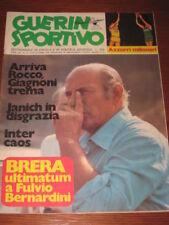 GUERIN SPORTIVO 1974/25 BOLOGNA INTER LUIS SUAREZ BRERA