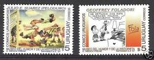 Cartoon Comic museum Soccer football bed lamp URUGUAY Sc#1671/2 MNH STAMP cv$3.5