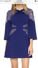 BCBG Maxazria Dress ULYANA NWT $468, Gorgeous! SZ 12, Large Deep Royal Blue