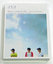 JYJ - JYJ 3hree Voices Ⅲ. –Secret Sessions- DVD [2 Discs + Poster on Pack]