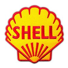 Shell Sport Motor Racing Oil Fuel Car F1 Embroidered Iron On Patch Applique Logo