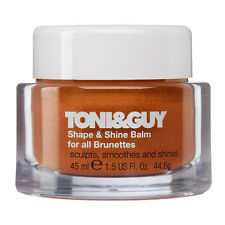 TONI&GUY Shape & Shine Balm Hair Wax for all Brunettes shade colour specific