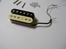 Fender Shawbucker cream / black Humbucker pickup Fantastic sound!!!