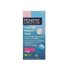 Monistat Complete Care Vaginal Health Test + Itch Relief Cream Treatment, 2 Test