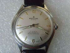 Vintage Swiss Breitling 17J Mechanical Manual Watch